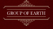 GROUP OF EARTH